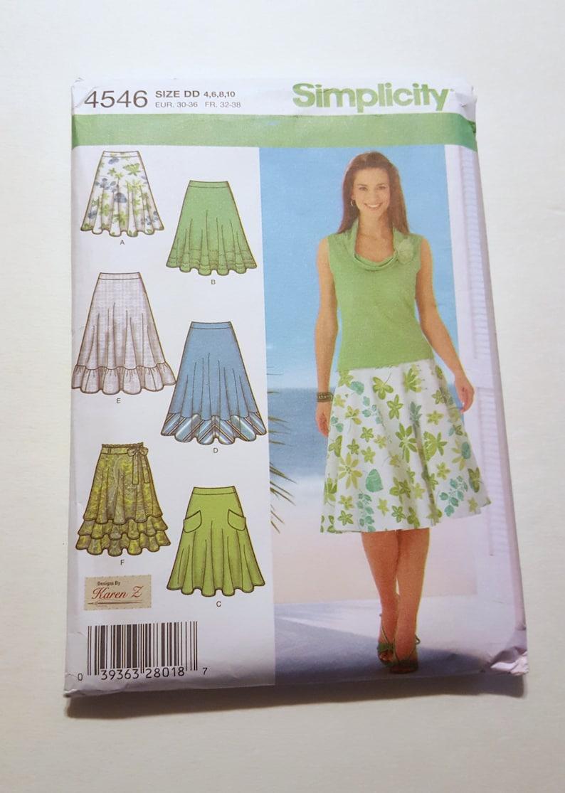 K1200 6-14 **NEW** Size U.S Simplicity Sewing Pattern No