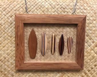 Surf Board Wood Frame