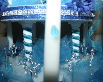Quinceanera candles, Sweet 15, Sweet 16,  Candelabra decoration