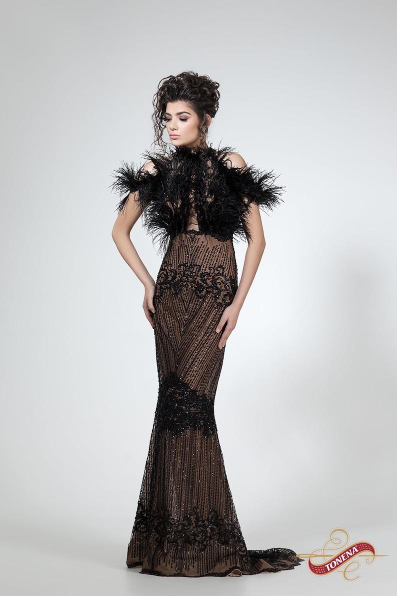 e4ebc1920cf Evening dress black mother of the bride or groom dress