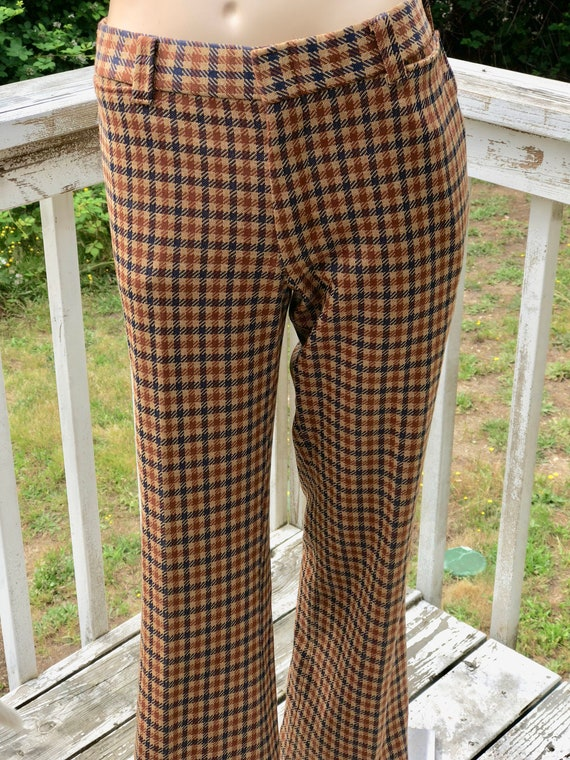 Brown Plaid Vintage 40s 50s Adi for Edelweiss Bava