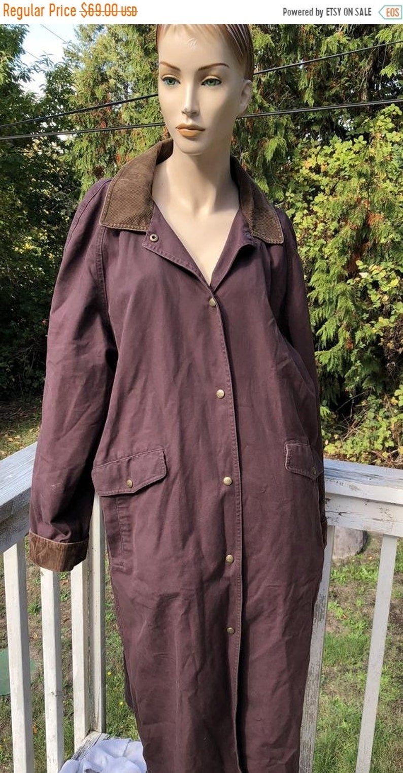 04a85bb9 FLASH SALE LL Bean Andirondak Rustic Brown Corduroy Cotton | Etsy