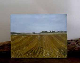 Wheat Fields Print of Original Painting