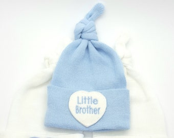 4c43e653bb8 Little Brother Newborn Hospital Hat