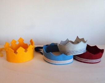 Felt crown, mod. prince