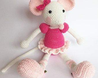 Crochet Ballerina Doll Amigurumi - Free Pattern : Crochet ... | 270x340