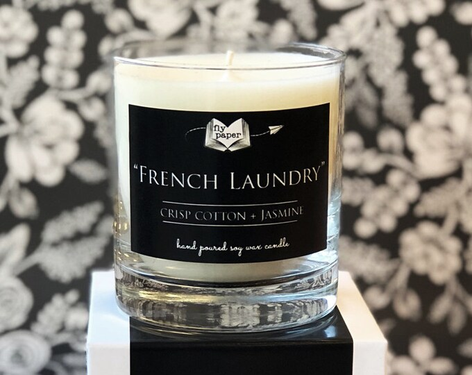 SALE! French Laundry-11oz Handpoured Soy Candle