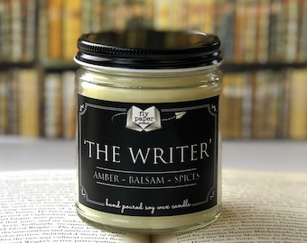 The Writer - 9oz Handpoured Soy Candle