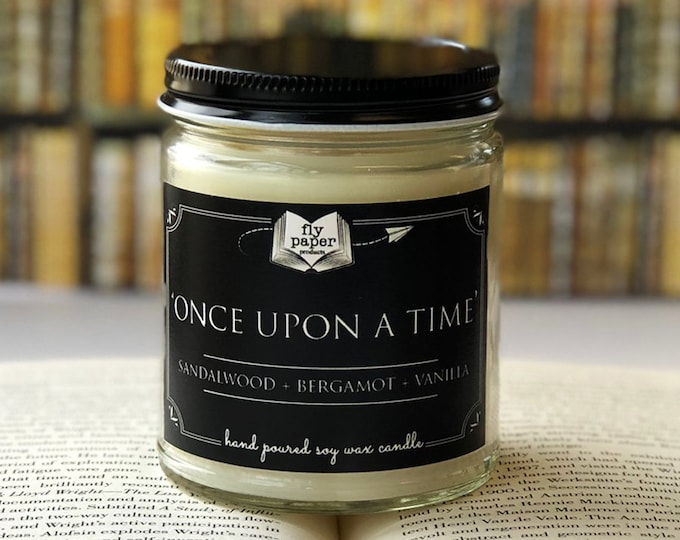 Once Upon A Time - 9oz Handpoured Soy Candle