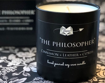 The Philosopher-11oz Handpoured Soy Candle