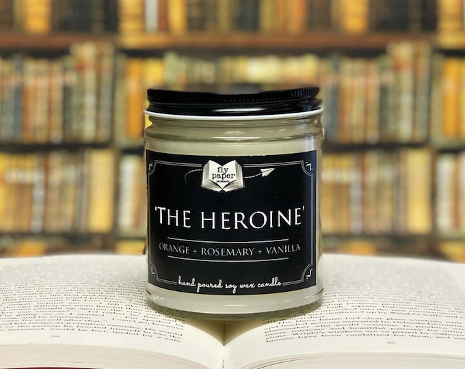 The Heroine- 9oz Handpoured Soy Candle