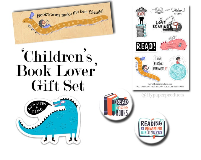The Ultimate Children's Book Lover Gift Set - Gifts for Kids - Gifts for Children- Book Lovers - Literary Gifts - Literature - Reading Gift