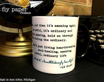 Life is amazing- Inspirational Quote- 11 oz Coffee Mug