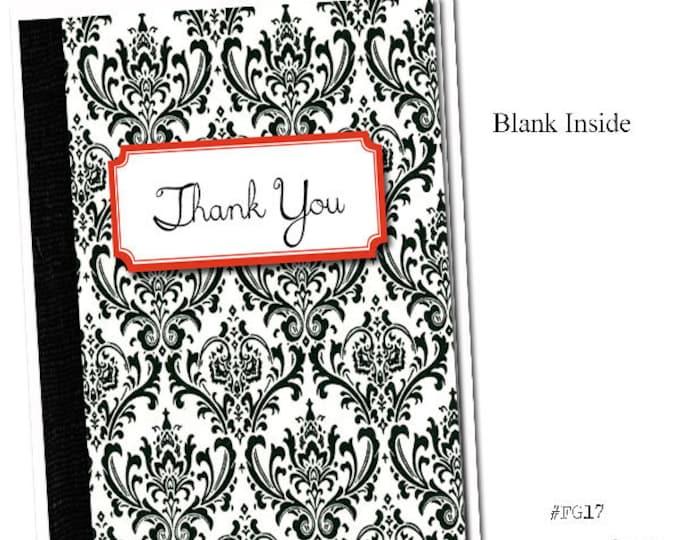 Thank You. Grammar themed Thank You card.