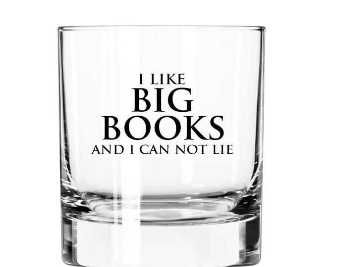I like Big Books and I can not lie- 11oz Rocks Glass