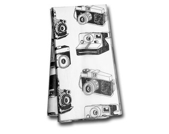 Vintage Camera Tissue Paper -Gift Wrap- Vintage Typewriter - Wrapping Paper - Retro Gift Wrap - Book Gift Wrap - Photographer - Photography
