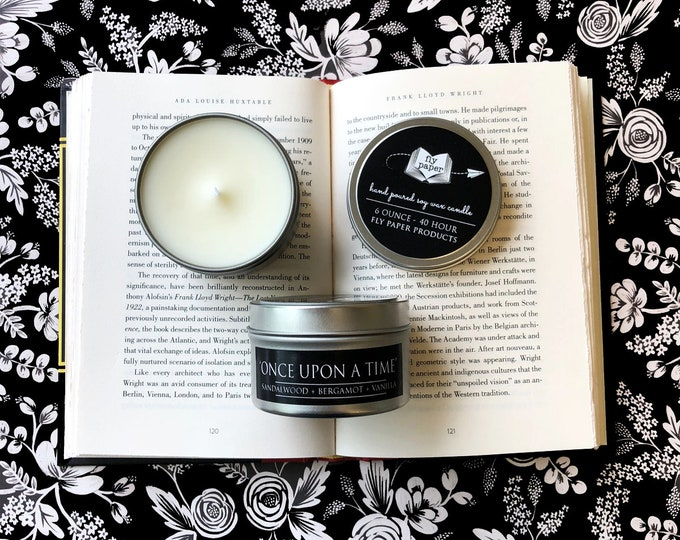 Once Upon a Time - 6oz Travel Tin Handpoured Soy Candle