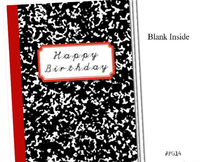 Happy Birthday! Grammar themed Birthday card.