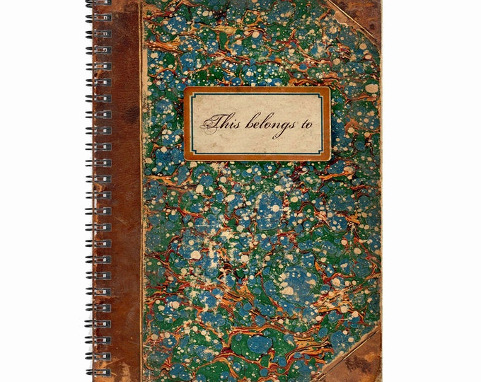 Library themed 80 page 'This belongs to' Note Book