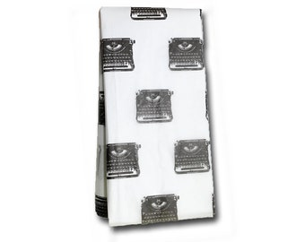 Underwood Typewriter Tissue Paper -Gift Wrap- Vintage Typewriter - Wrapping Paper - Retro Gift Wrap - Bookish Gift Wrap - Writer - Author