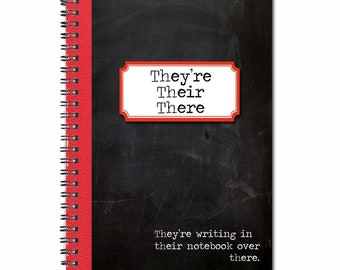 They're, Their, There-Note Book