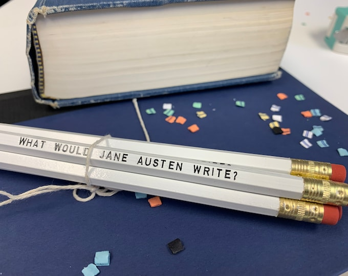 Set of 5 Jane Autsen Inspiration Pencils