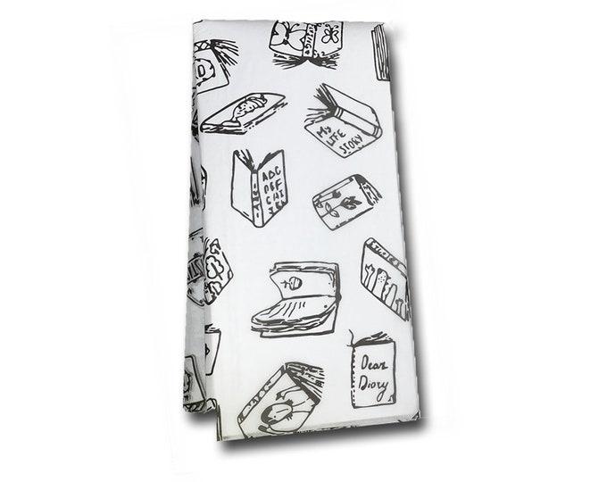 Floating Books Tissue Paper