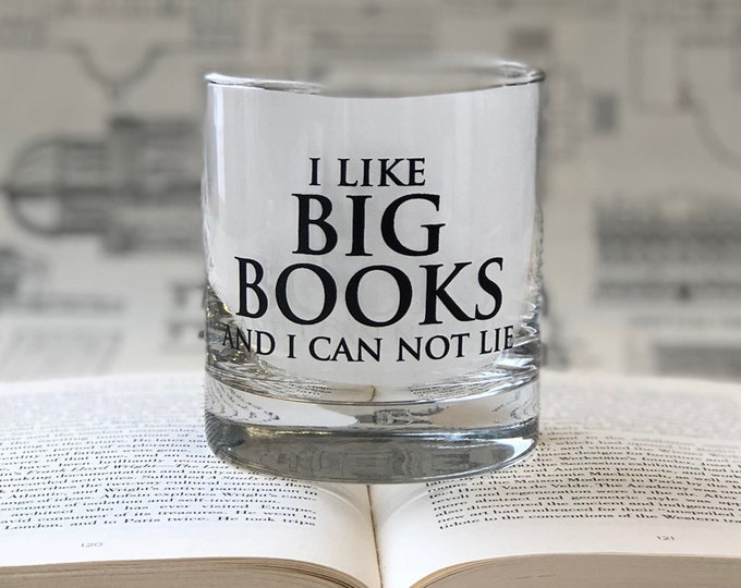 I like Big Books and I can not lie- 11oz Rocks Glass