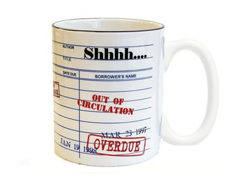 Shhh...Librarian Coffee Mug
