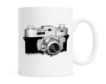 Vintage Kodak Camera- 'This is how I roll' - Coffee Mug