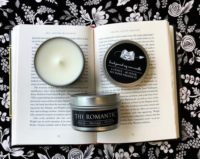 The Romantic - 6oz Travel Tin Handpoured Soy Candle