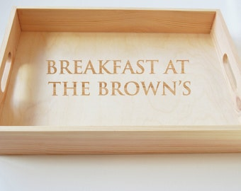 Engraved Trays