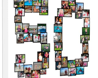 Photo Collage - Any Number Collage on Canvas