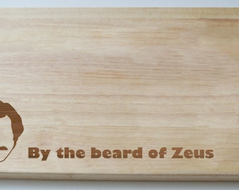 Ron Burgundy The Anchorman Engraved Wooden Chopping Board