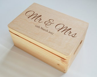 Engraved Keepsake Boxes