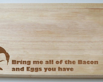 Ron Swanson Parks and Recreation Chopping Board