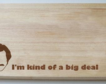 Ron Burgundy The Anchorman Chopping Board