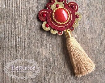Apolonia pendant soutache