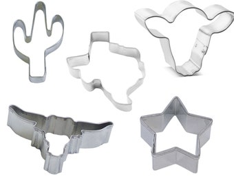 Set of 10! Christmas Mini Cookie Cutters
