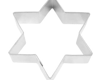 6 Point Star of David 3.5/'/' Cookie Cutter