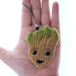 Custom order: 2 Groot plush charms