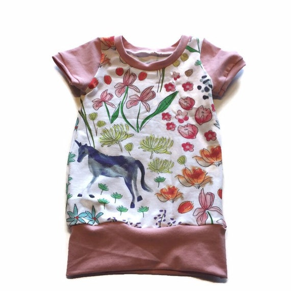 size 3-12 months toodler dress Grow with me tunicdress goft for girls