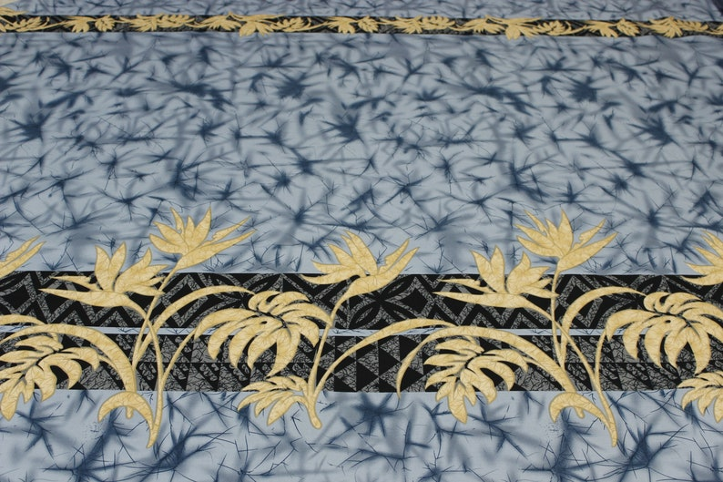 Bird of Paradise Original Design Fabric Sold by the Yard 100 /% Cotton Exclusive Design Tropical Fabric
