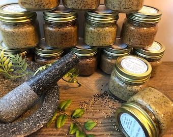 Artisan Coarse Ground Mustard - Choose From 14 Flavors - 8 oz Jars - Charcuterie Board Condiment - Boondock Enterprises