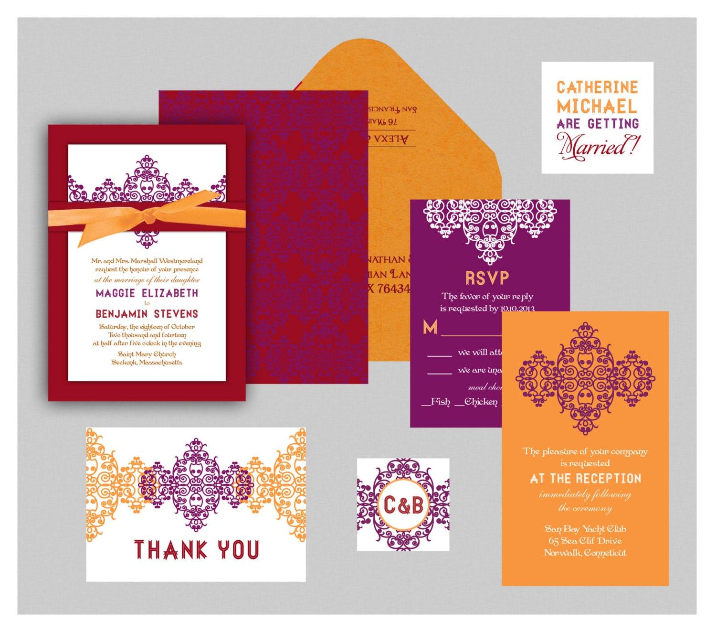 Ram Leela Collection Indian Wedding Invitation Layered | Etsy