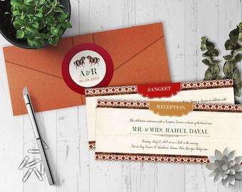 The Karunat Collection - Indian Wedding Invitation