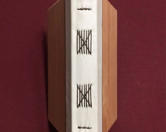 Lined Wood Journal