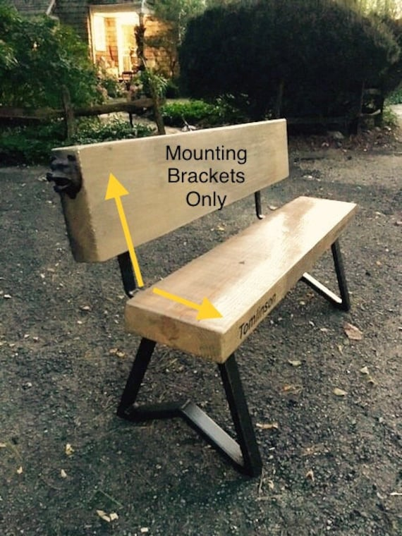 Groovy Bench Back Supports 24 X 2 X 1 4 Brackets To Attach Back To Seat One Pair Ibusinesslaw Wood Chair Design Ideas Ibusinesslaworg