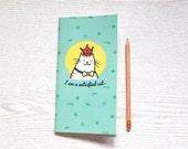 Midori insert / Midori Traveler's Notebook Insert / Fauxdori Inserts / Blank Notebook / Standard Notebook / Paper Refill /Gift for Cat lover