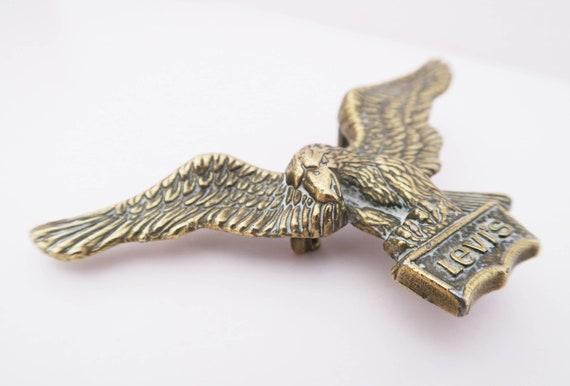 super economico uk sporco acquista online Aquila Levi Strauss & Co. Fibbia in ottone. cintura vintage   Etsy